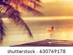 a glass of margarita cocktail... | Shutterstock . vector #630769178