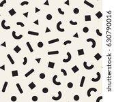seamless primitive jumble... | Shutterstock .eps vector #630790016