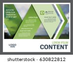 presentation layout design... | Shutterstock .eps vector #630822812