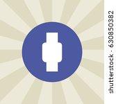 watch icon. sign design....