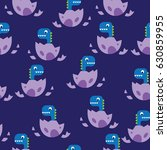 seamless vector pattern with... | Shutterstock .eps vector #630859955