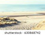sandy dunes on the sea coast in ... | Shutterstock . vector #630868742