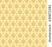 vintage background seamless... | Shutterstock .eps vector #630872282