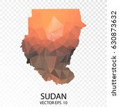 transparent polygon map  ... | Shutterstock .eps vector #630873632