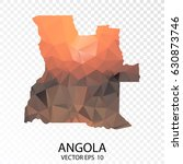 transparent polygon map  ... | Shutterstock .eps vector #630873746