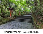 red tori in usa jingu shrine ... | Shutterstock . vector #630880136
