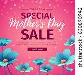 template design discount banner ... | Shutterstock .eps vector #630890942