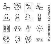 profile icons set. set of 16... | Shutterstock .eps vector #630902066