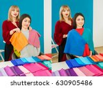 comparison portrait of woman...   Shutterstock . vector #630905486