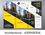 business brochure. flyer design.... | Shutterstock .eps vector #630908306