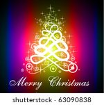 fluorescent red purple... | Shutterstock .eps vector #63090838
