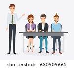 business people teamwork...   Shutterstock .eps vector #630909665