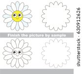 drawing worksheet for preschool ... | Shutterstock .eps vector #630912626