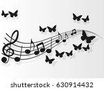 vector image design music... | Shutterstock .eps vector #630914432