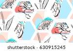 Hand Drawn Vector Abstract...