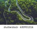 A Winding Road Between Tropica...