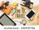 travel. time to travel concept... | Shutterstock . vector #630935786