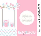 Card Baby Shower With Cute...