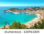 port de soller  mallorca  spain | Shutterstock . vector #630961805