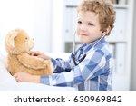 child  patient after health... | Shutterstock . vector #630969842