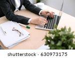 close up of business woman ... | Shutterstock . vector #630973175
