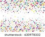 festive colorful round confetti ... | Shutterstock .eps vector #630978332