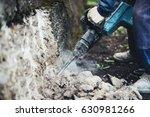 industrial worker details. male ... | Shutterstock . vector #630981266