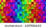 Rainbow Of Colorful Blocks...