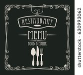 template vector menu for... | Shutterstock .eps vector #630993062