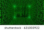 bar code  binary code...   Shutterstock .eps vector #631003922