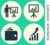job icons set. collection of... | Shutterstock .eps vector #631041872