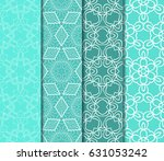 set of decorative line... | Shutterstock .eps vector #631053242