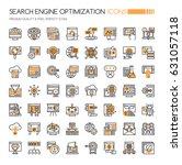 search engine optimization... | Shutterstock .eps vector #631057118