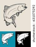 fish | Shutterstock .eps vector #631075292