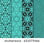 set of ornamental design....   Shutterstock .eps vector #631075466