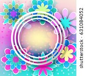 greeting card for celebrations...   Shutterstock .eps vector #631084052