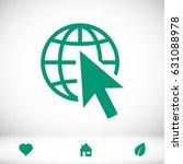 web icon  stock vector... | Shutterstock .eps vector #631088978