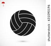 basketball ball icon  vector... | Shutterstock .eps vector #631090196