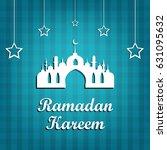 ramadan kareem is a beautiful... | Shutterstock .eps vector #631095632