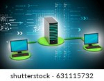 3d illustration of wireless... | Shutterstock . vector #631115732