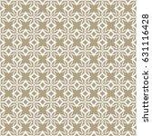 seamless geometric line pattern.... | Shutterstock .eps vector #631116428