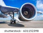 jet engine | Shutterstock . vector #631152398
