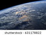 earth from space with dramatic... | Shutterstock . vector #631178822