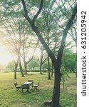 garden chair   Shutterstock . vector #631205942
