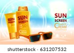 luxury cosmetic bottle package... | Shutterstock .eps vector #631207532