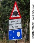 Warning Sign At The...