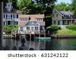 a scene in the movie jaws  in... | Shutterstock . vector #631242122