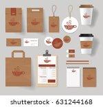 corporate branding identity... | Shutterstock .eps vector #631244168