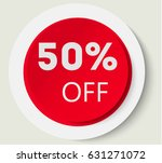 sale button  label and sign. | Shutterstock .eps vector #631271072