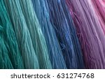 closeup of colorful cotton... | Shutterstock . vector #631274768